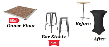 Event Rentals in Coeur d'Alene, Hayden ID, Rathdrum ID, Post Falls ID, Spokane WA, Mead WA