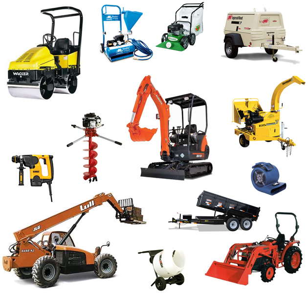 Equipment rentals in Hayden ID