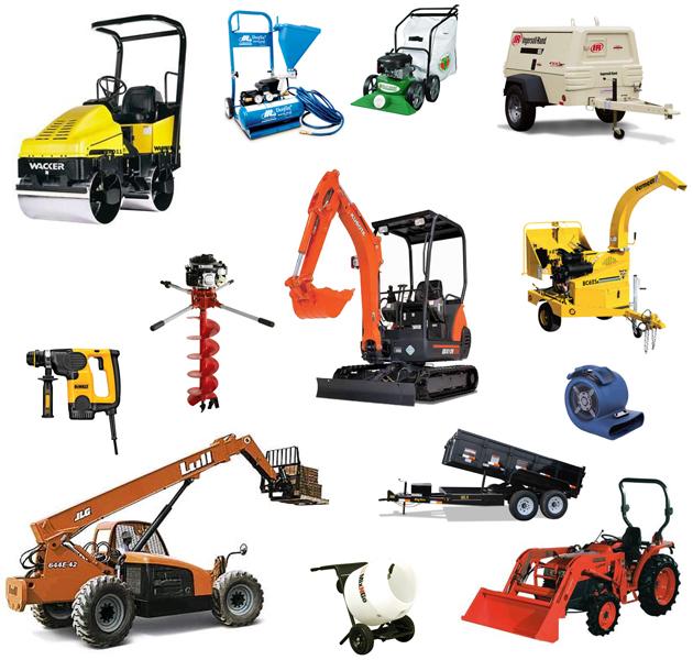 Rentals Equipment
