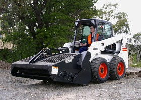 Where to find LANDSCAPE RAKE SKIDSTEER in Hayden