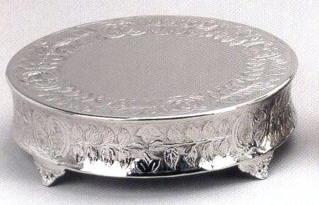 Where to find CAKE STAND 18  SILVERPLATE in Hayden