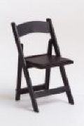 Where to rent CHAIR, FOLDING BLACK RESIN in Hayden ID