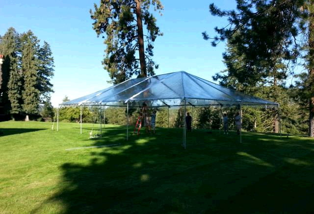 Where to find TENT, FRAME 30  X 30   CLEAR in Hayden