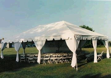 Where to find TENT, FRAME 30  X 30   WHITE in Hayden