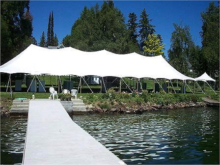 Where to find TENT, POLE 40  X 120   WHITE in Hayden
