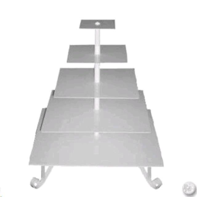 Where to find CUPCAKE STAND 5 TIER STEEL SQUARE in Hayden