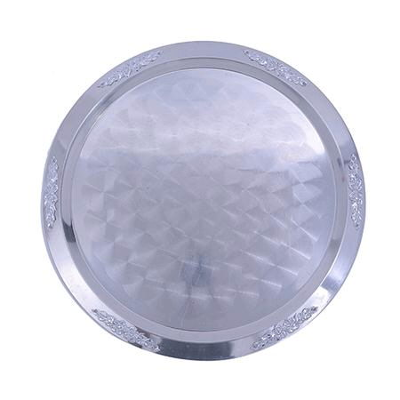 Where to find TRAY, 20  ROUND STAINLESS in Hayden