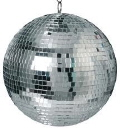 Where to rent DISCO BALL W 2 LED PINSPOTS in Hayden ID