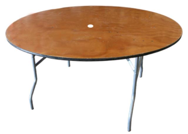 Where to find TABLE, ROUND 60  WITH CENTER HOLE in Hayden