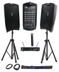 Where to rent SPEAKER SYSTEM DUAL   WIRELESS MIC in Hayden ID